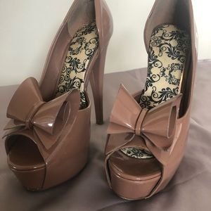 JustFab Shoes - Rose d'Orsay pump